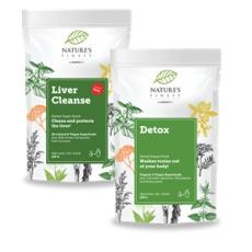 Total Detox 250g (Liver Cleanse 125g + Detox 125g)