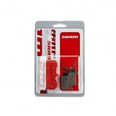 brzdové destičky SRAM DB HRD organické/hliník