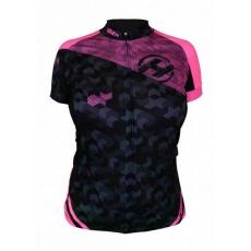 dres krátký dámský HAVEN SINGLETRAIL černo/růžový