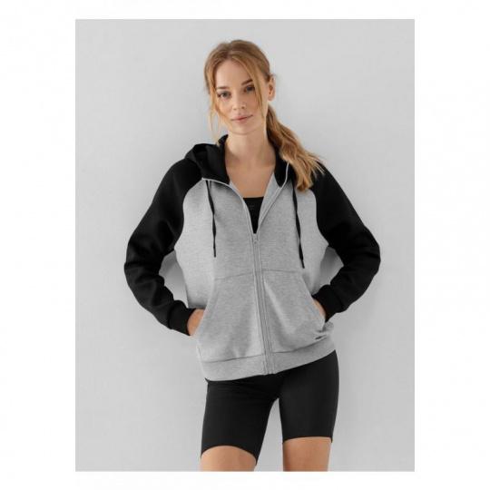 4F W sweatshirt H4Z21-BLD020 Gray