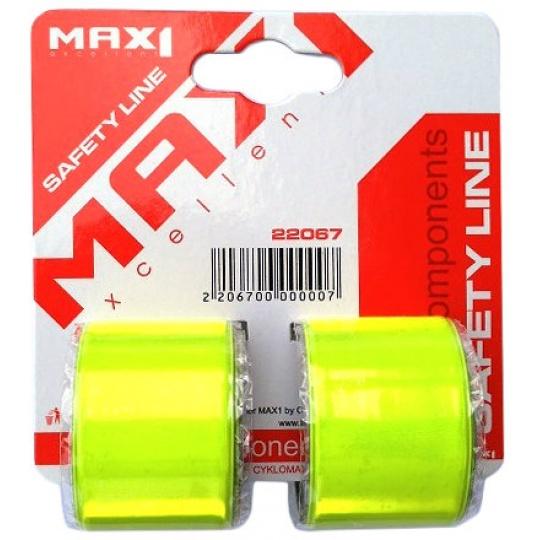 páska reflexní MAX1 svinovací 39 cm 2ks na kartě