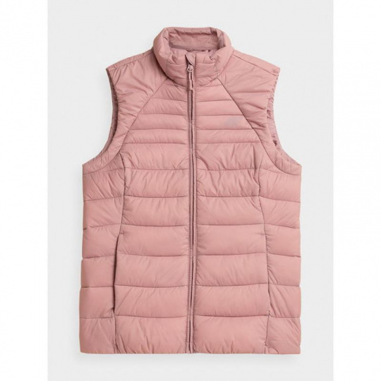 4F W Vest H4Z21-KUDP001 Pink