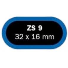 záplaty FERDUS ZS 9 32x16mm balení 50ks