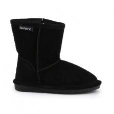 BearPaw Emma Toddler Zipper Jr 608TZ Black Neverwet Shoes