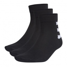 Adidas 3-Stripes Ankle 3Pak GE6164