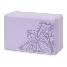 GAIAM Lilac Point foam Yoga Cube