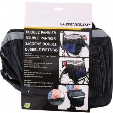Bicycle trunk bag Dunlop 2ass PES 30x26x10cm 600D SL 27890