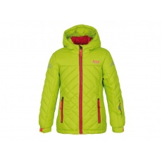 bunda dětská LOAP FEBINA zimní zelená