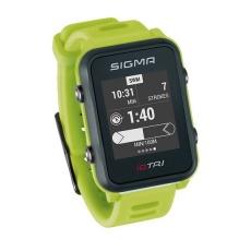 chytré hodinky SIGMA iD.TRI Basic neon zelené