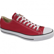 C. Taylor All Star OX Optical Red M shoes