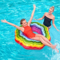Bestway Rainbow 115cm 36163 7463 swimming wheel