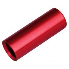 koncovka bowdenu MAX1 CNC Alu 4 mm červená 100 ks
