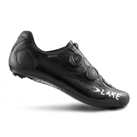tretry LAKE CX332 černo/stříbrné vel.46,5