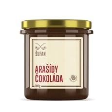 Arašídy - Čokoláda pražené mělněné 330g (Arašídovo-čokoládový krém)