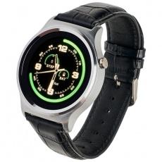 Watch, smartwatch GT18 silver leather