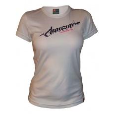 dres krátký dámský HAVEN AMAZON bílo/fialový
