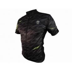 dres krátký pánský HAVEN SKINFIT černá/flouritová