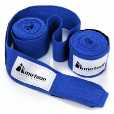 Boxing bandage Meteor 2.8 m 2 pcs blue 24295