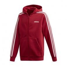 Adidas Essentials 3S Full Zip Hoodie Sweatshirt Jr EI7995