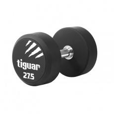 Dumbbell tiguar PU 27.5 kg TI-WHPU0275