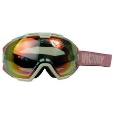 brýle lyžařské Ski/SNB VICTORY V616B bílé