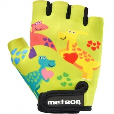 Cycling gloves Meteor Dino Junior 26190-26191-26192