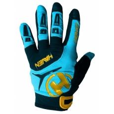 rukavice HAVEN DEMO LONG modro/oranžové