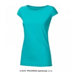 triko krátké dámské Progress CORDOBA sv. zelené