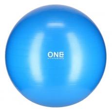 Gymnastický míč ONE Fitness Gym Ball 10 modrý, 75 cm