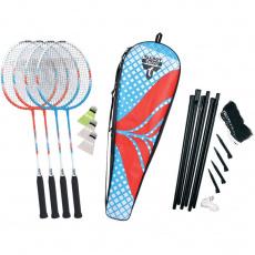 4 player badminton set