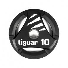 Olympic plate tiguar PU 10 kg