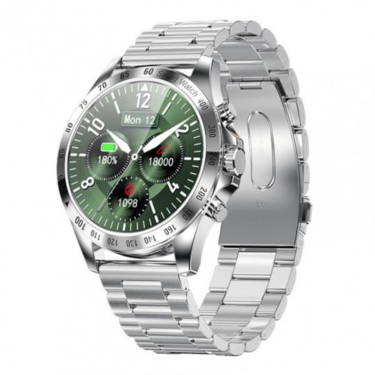Watch, smartwatch Men Style silver, steel