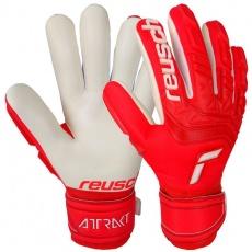 Goalkeeper gloves Reusch Attrakt Freegel Silver 5170235 3002