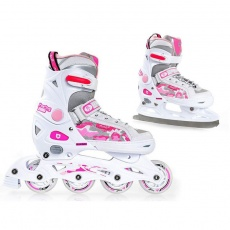 Roller skates Mico Princes 2in1 PW-126B-8