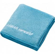 Aqua-speed Dry Coral towel 350g 50x100 light blue 02/157