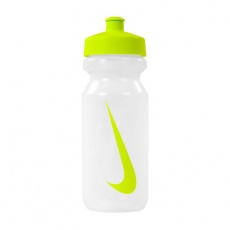 BIDON NIKE BIG MOUTH transparent / lime 1796422