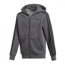 Adidas Essentials 3S Full Zip Hoodie JR DX2474
