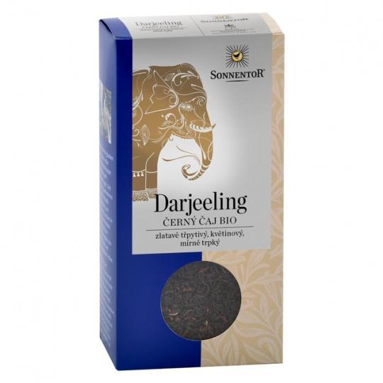 čaj černý Darjeeling Sonnentor 100g sypaný