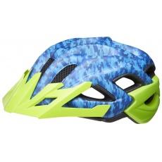 přilba KED Status Junior S camouflage blue green 49-54 cm
