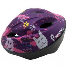 Adjustable bicycle helmet Love Kitty 51-53 cm Enero Jr