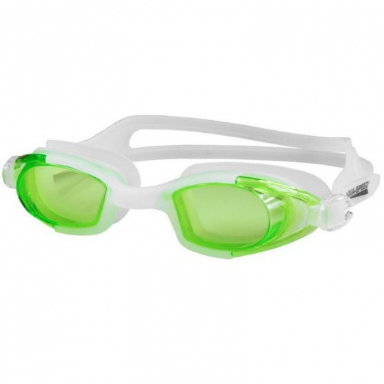 Swimming goggles Aqua-Speed Marea white-green