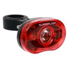 blikačka zadní SMART 318 R 1/2W LED